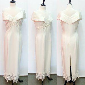 Vintage Jessica McClintock Gunne Sax Wedding Dress